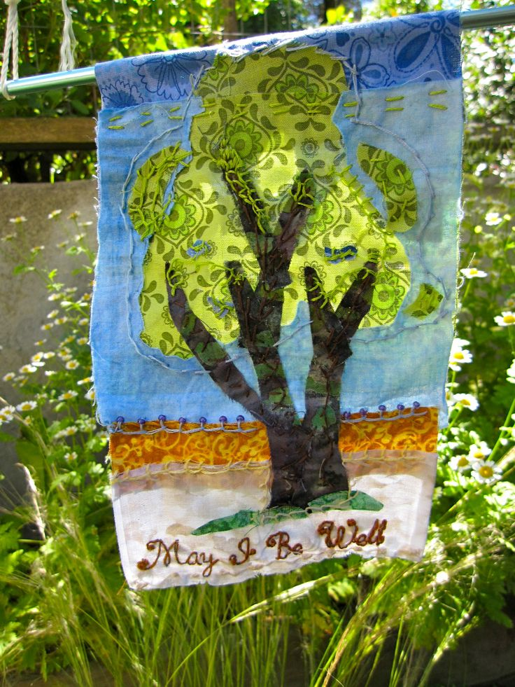 The Prayer Flag Project: A flag for wellness