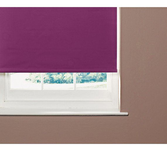 Buy ColourMatch 3ft Blackout Roller Blind - Purple Fizz at Argos.co.uk, visit Argos.co.uk to shop online for Blinds, Blinds, curtains and accessories, Home furnishings, Home and garden
