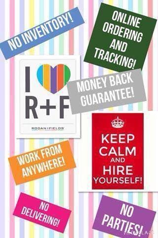 Rodan+Fields- need we say more?!? Message me to find out more-visit my website for contact info: cmerideth.myrandf.biz