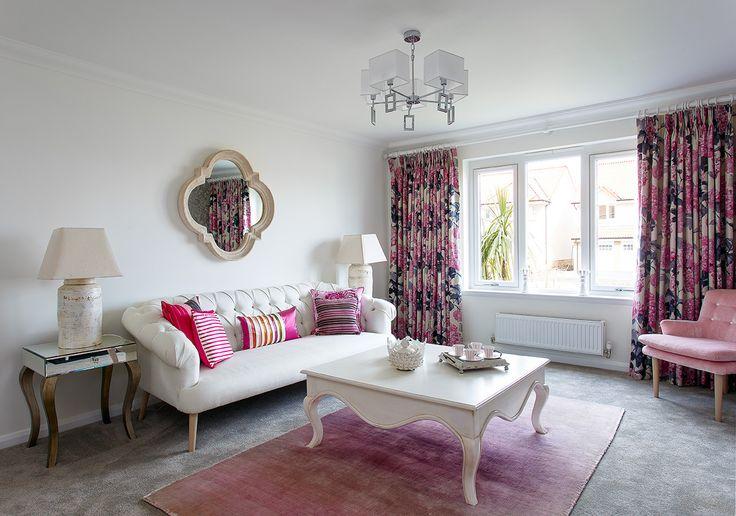 The elegant lounge at Walker Group's Hopefield Park