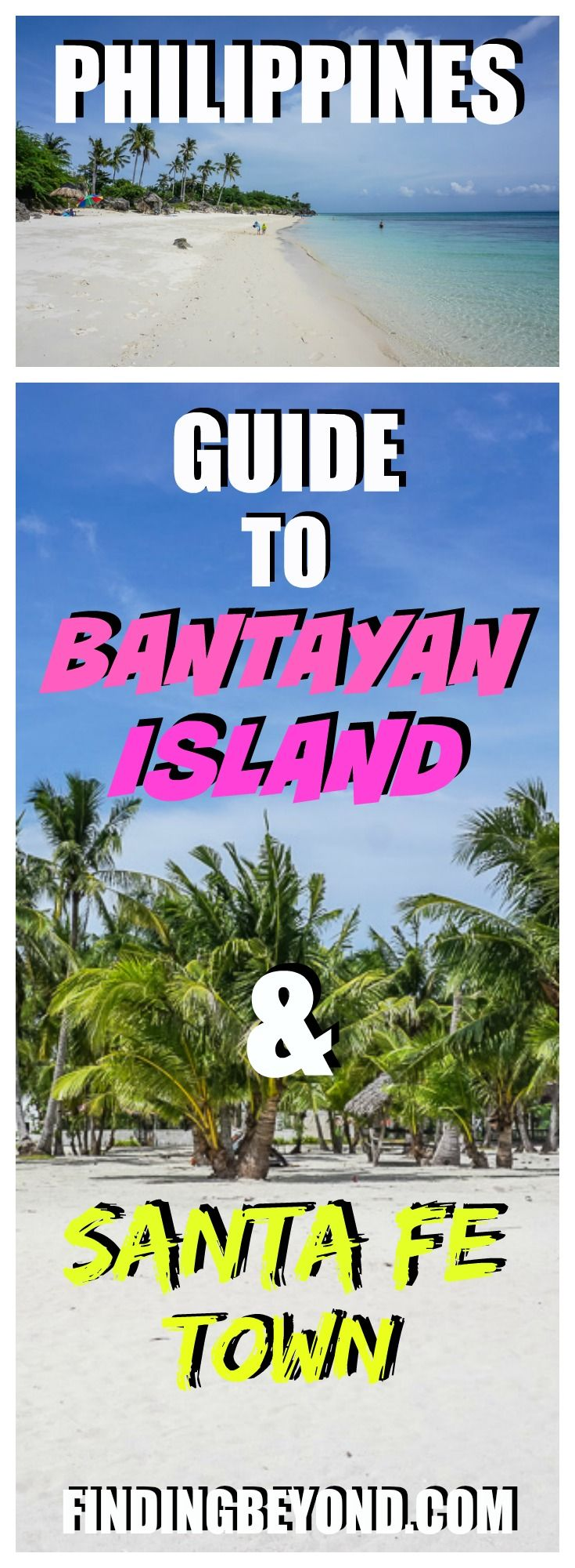 Bantayan Island, the perfect Philippine paradise? Read our #BantayanIsland guide and #SantaFe information to help build your Bantayan island itinerary. | Best of the #Philippines | Top Islands to visit in the Philippines | Backpacking in the Philippines | Philippines on a Budget | Paradise Beach on Bantayan Island | Islands to visit near Cebu | Top beaches in the Philippines | #philippinebeaches #philippineislands #bantayanislandguide #bestofphilippines