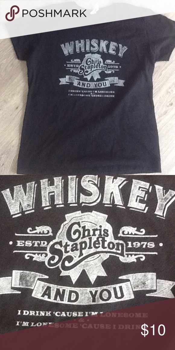 Chris Stapleton concert teeshirt Womens large concert teeshirt from last summer. Tops Tees - Short Sleeve