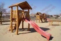 Fa játszótér építése óvodákba, iskolákba, közterületekre