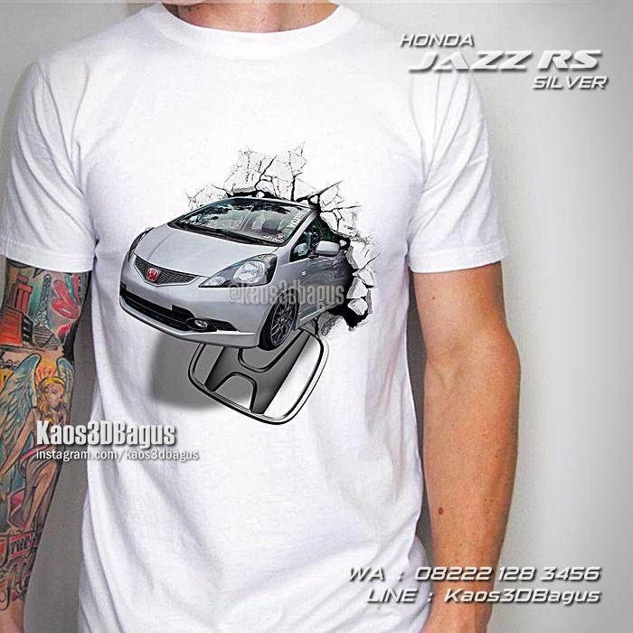 Kaos HONDA JAZZ RS, Kaos MOBIL, Kaos3D, Honda Jazz Silver 2013, All New Honda Jazz, Jazz Fit Indonesia, Kaos Gambar Mobil, Car, City Car, Automotive, Custom Car, https://kaos3dbagus.wordpress.com, WA : 08222 128 3456, LINE : Kaos3DBagus