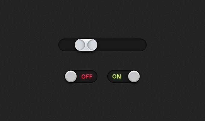 Switch & Slider - 365psd
