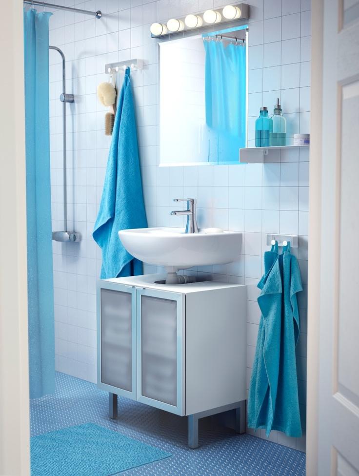 Combinando los textiles, conseguirás esa perfecta armonía que estás buscando para tu baño. www.islas.IKEA.es