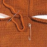 Knitting Tip - Sewing on Sleeves