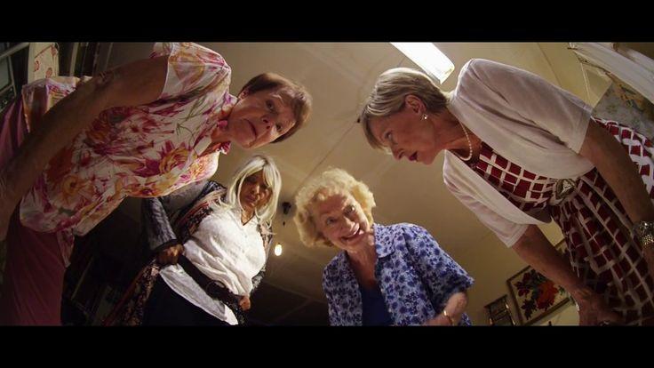 Bad Grandmas Trailer  Comedy Movie (2017) Pam Grier, Florence Henderson
