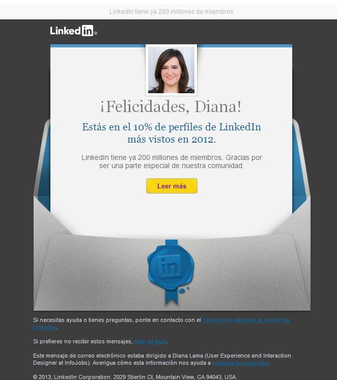 El famoso email ego de LinkedIn