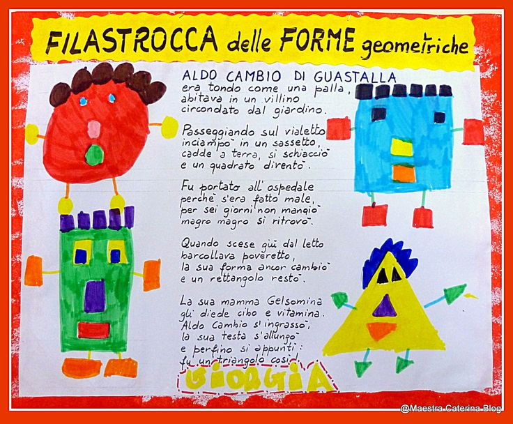 Maestra Caterina: Filastrocca delle Forme geometriche
