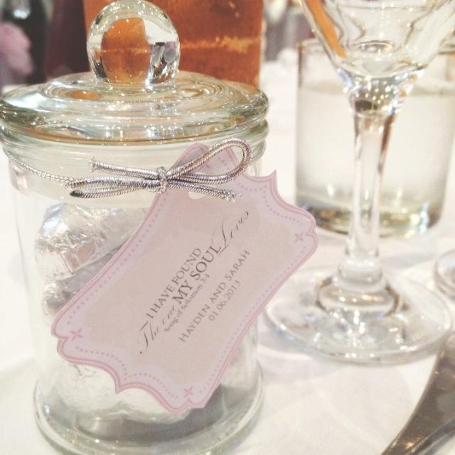 Wedding Bonbonnieres made by cherish xx