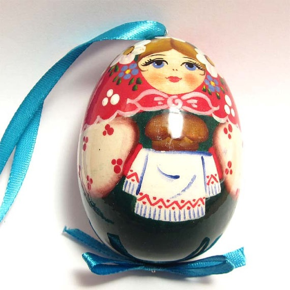 Russian Easter Egg Salt and Bread by RussianGift on Etsy, $6.00