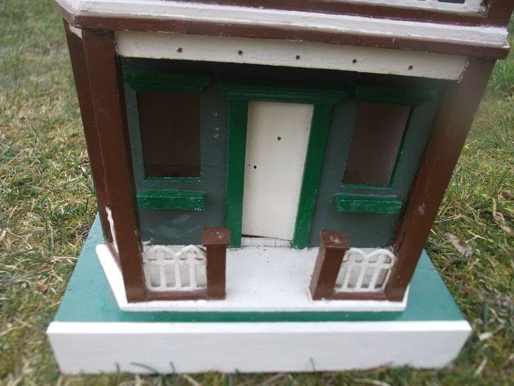 Ritterburg Holz Universe Of Imagination ~ Sehr altes Puppenhaus Holz Handarbeit ca 1920 seitlich aufklappbar