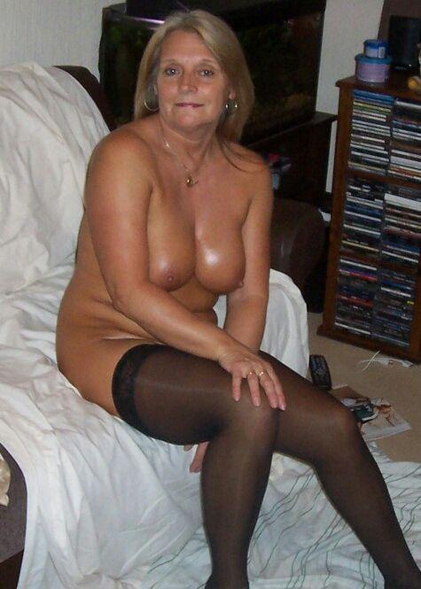 gf stocking nude