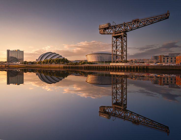 River Clyde in Glasgow Scotland [OC] [5616x4336]