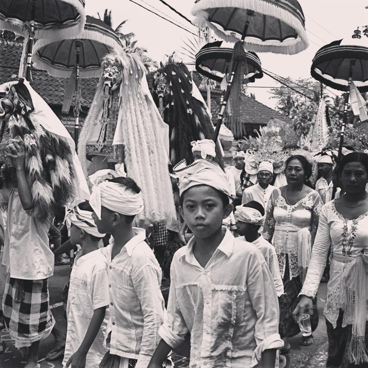 Galungan Parade . Bali