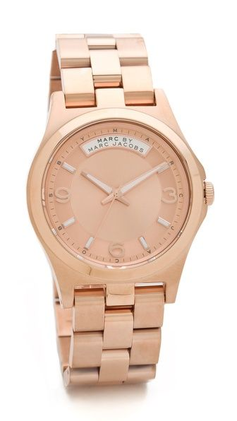 Rose gold by Marc Jacobs Baby Dave Watch. Half of the reason