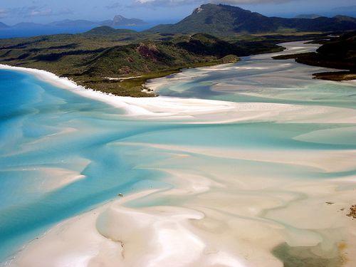 Whitehaven beach. Australia : done !