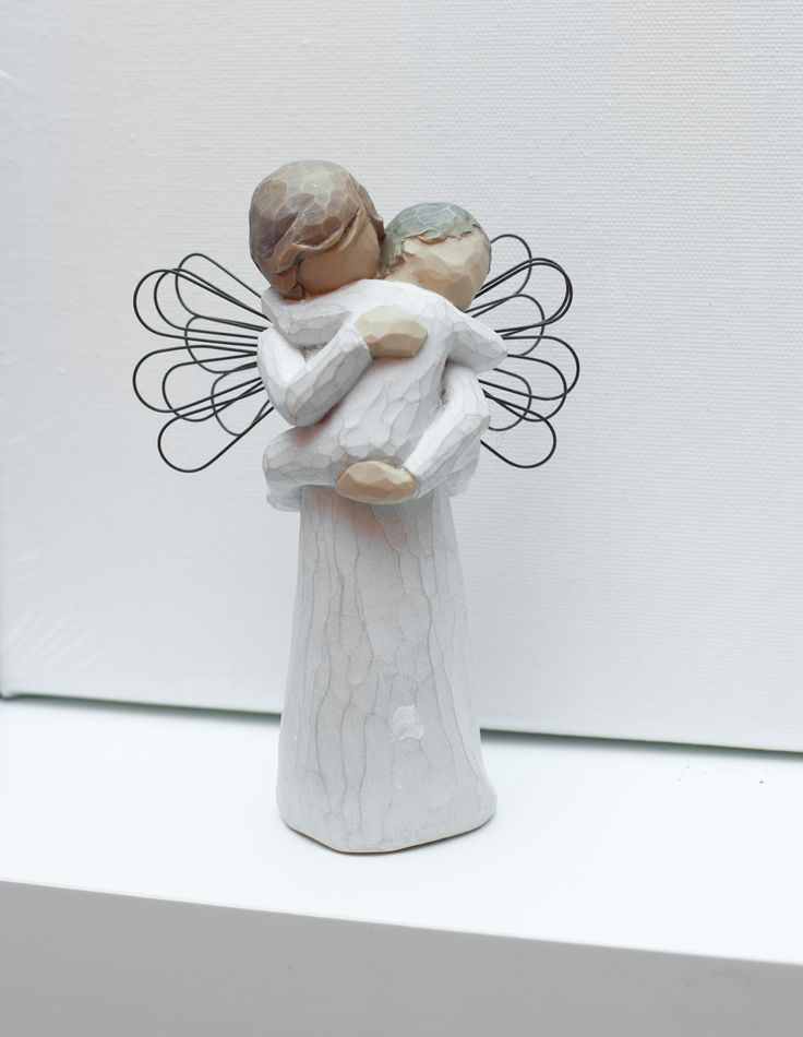 Godmother Gift for Baptism.  Willow Tree figurines. #Christening #Christening gifts #Babiesgifts