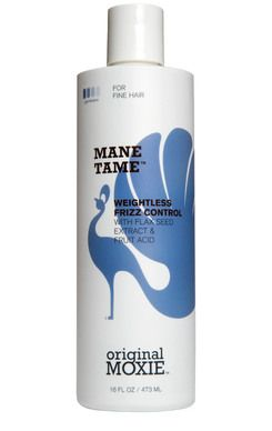 Mane Tame™ Weightless Frizz Control - I have fine, wavy hair.  I have tried so many frizz control products; this is the first that tames the frizz without making my hair look & feel oily.  Bonus: Free of sulfates & phthalates.