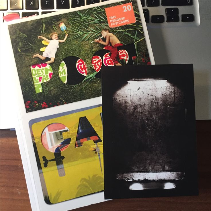 1/20 cards from FL@33's 224pp #Postcard book. PMT 23: no show by Vaughan Oliver https://www.stereohype.com/150-postcard-book #collect #photography #designer #postcards #graphicdesign #illustration #book #design #bookdesign #cover #coverdesign #diecut #special #edition #paper #engineering #paperengineering #packaging #packagingdesign #4ad #v23  Book features over 800 miniature works of art. 👍👌Check http://flat33.com for more...