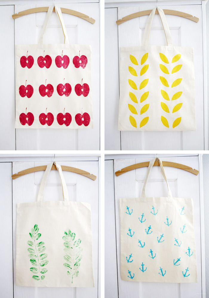 DIY: Textile Printing Techniques and Inspiration - Luloveshandmade
