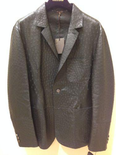Roberto Cavalli Designer 27 375 00 Men S Ostrich Leather