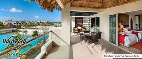 Hard Rock Punta Cana Family Suites Perfect For Bridal Shower Or Bachelorette Party Bridal