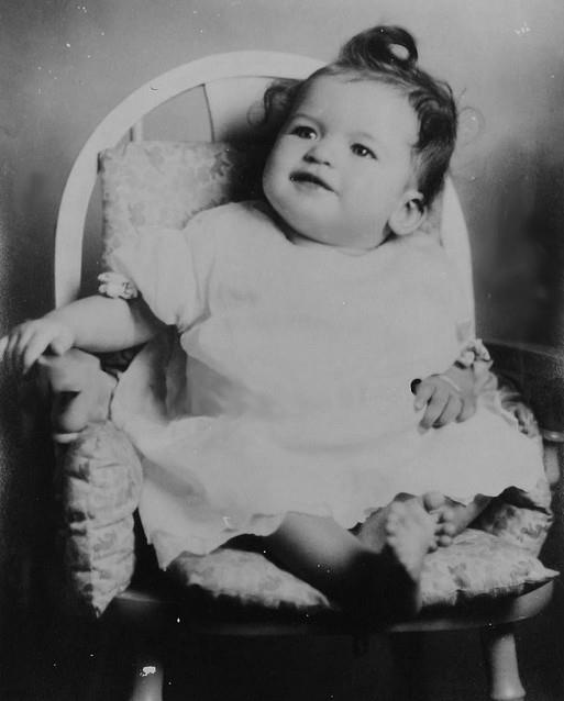 Happy birthday, little Vera Jayne Palmer (Jayne Mansfield).
