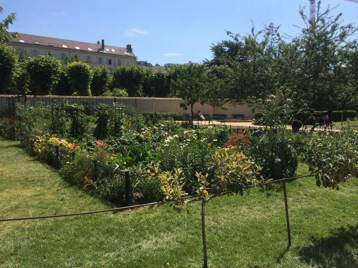 Jardin catherine labour paris le de france parks for Jardin catherine laboure