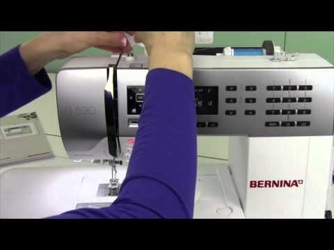 Bernina 530 21 Top Tension Issue - YouTube