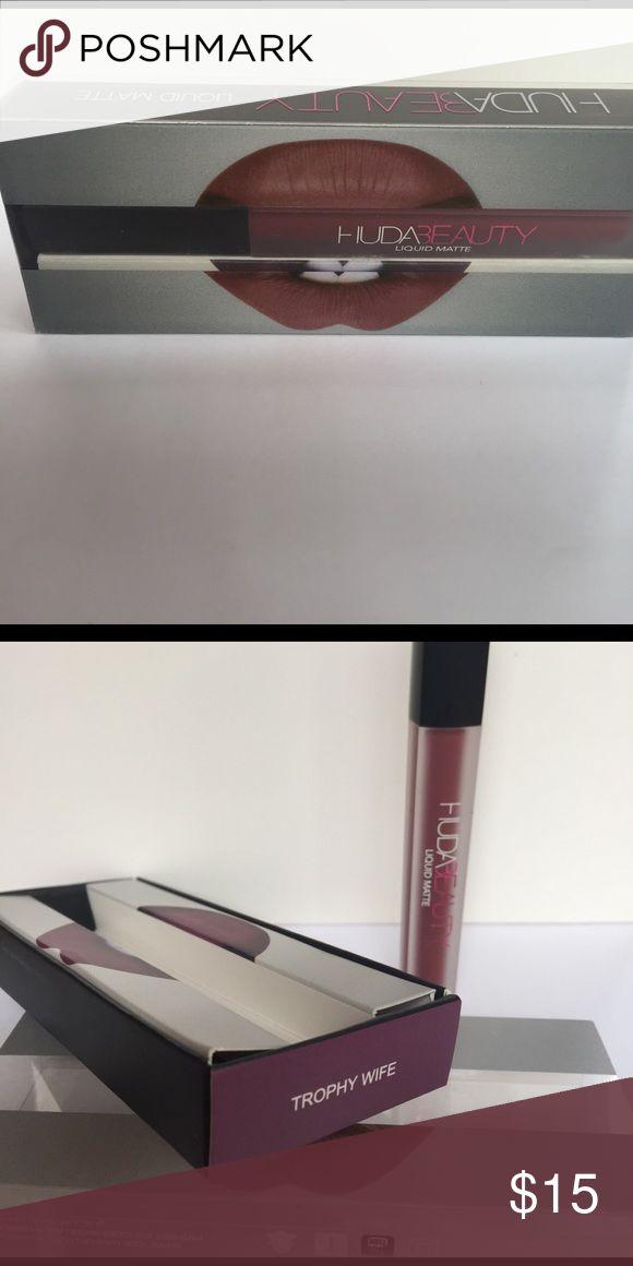 HUDA Trophy Wife Liquid Matte Lipstick Liquid Matte HUDA  Trophy Wife HUDA Makeup Lipstick