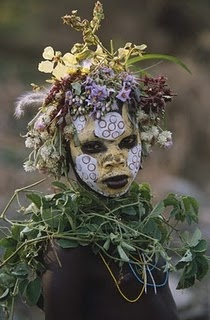 """""""Natural Fashion: Tribal Decoration from Africa"""" a book by Hans Silvester"""