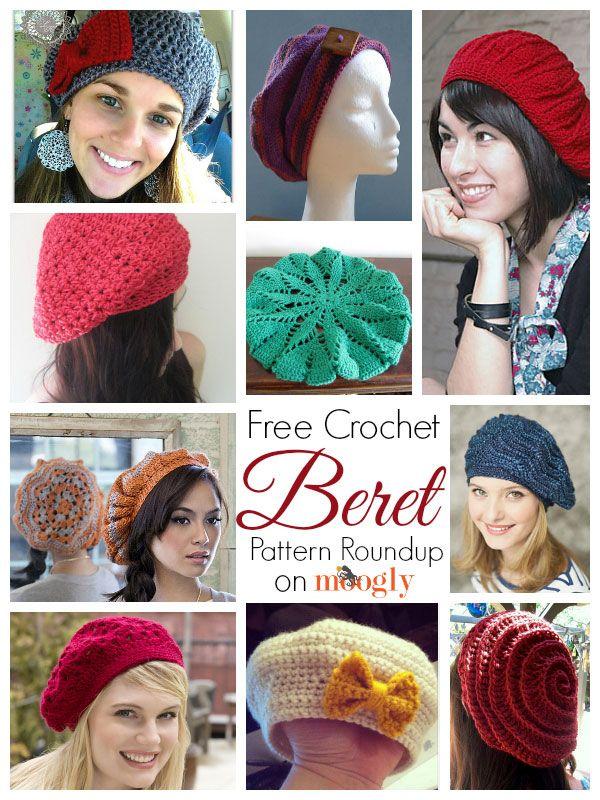 10 Free and Beautiful Beret Crochet Patterns