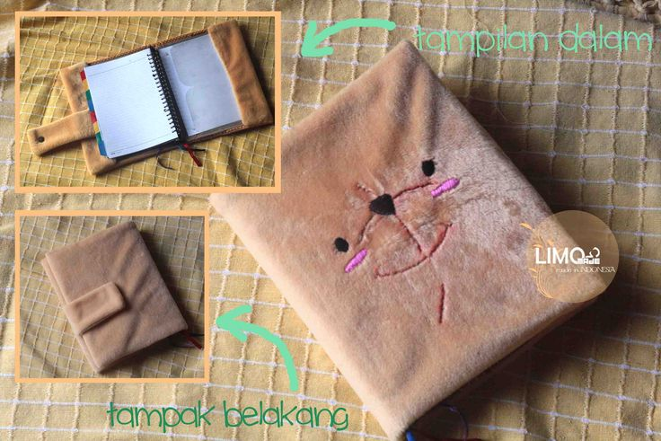 Bear | 55K | bahan : kain bulu | check this limo-made.blogspot.com #handmade #coverbinder #sampulbinder #limitededition #semarang #indonesia #limomade
