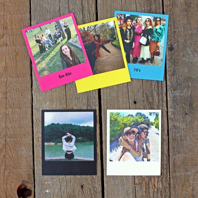 Pola Kartlar Artık Polaroid® fotoğraf makinen olmasa bile fotoğraflarına sahip olabilirsin. Orjinal Polaroid® ölçülerinde 36 tane fotoğraf.