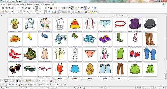 pictogrammes gratuits  u00e0 imprimer