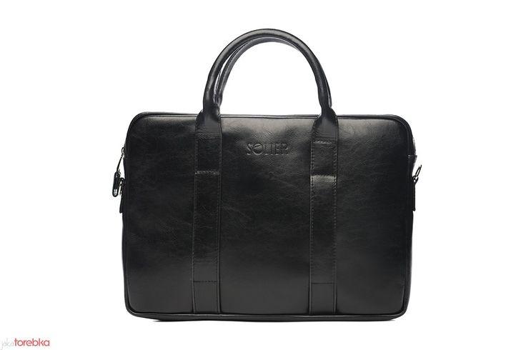 Skórzana męska torba na laptopa Edynburg