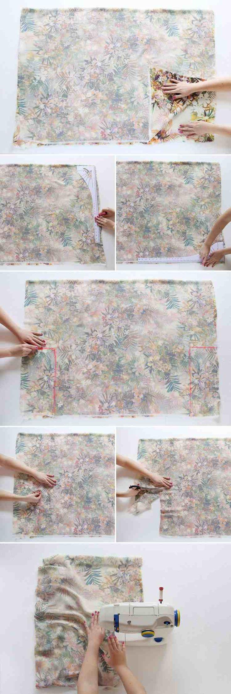 veste kimono femme DIY étape par étape