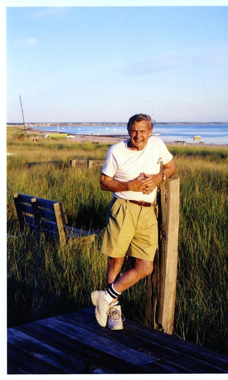 Dad on Beach Point in 2003: Beaches Point