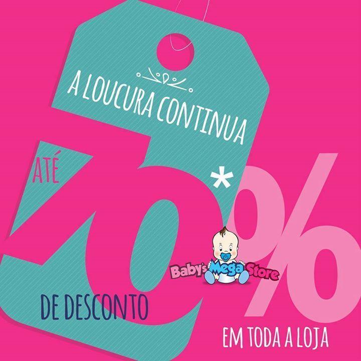 😱😱 ÚLTIMOS DIAS!!! ✅ Somente até o sábado, dia 31/12!! Super #Promoção Fecha Ano da Baby´s!!  Toda* a loja com até 70% OFF**⚠!!!!! São milhares de itens com um super desconto. Venha fazer ou renovar o enxoval do seu bebê. 🚼 Venha para a maior e mais completa megastore para bebês do Estado. ✳ Corre aproveitar!!  Rua Dom Pedro II, 904 - Bairro Higienópolis - Porto Alegre/RS (em frente ao prédio do CIEE e a uma quadra do Clube SOGIPA)! * Por força da legislação mamadeiras, chupetas e seus…