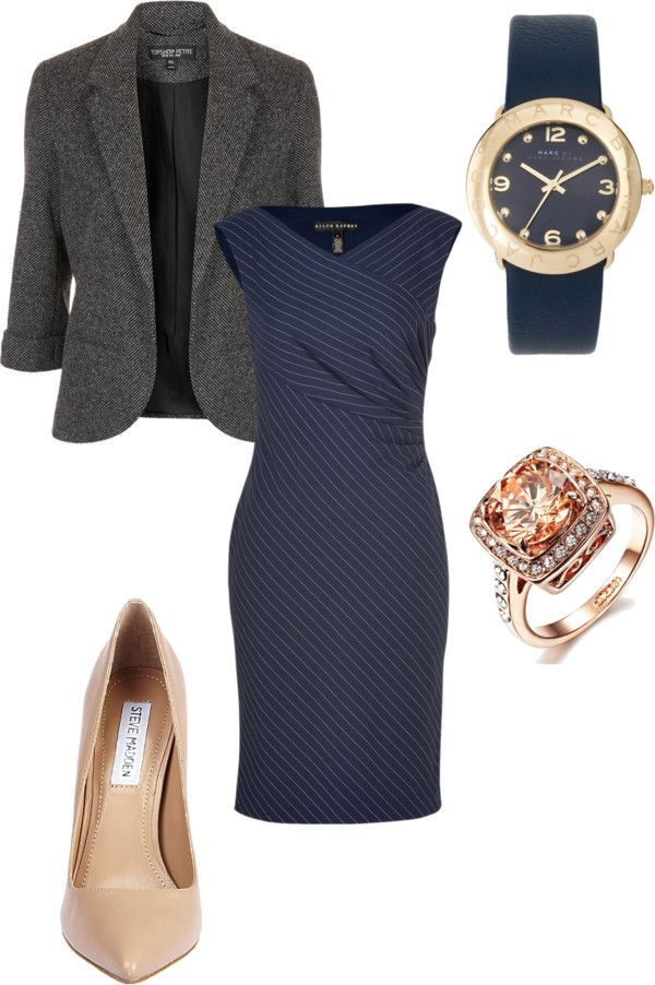 """Office Party"" by beeskneesgems on Polyvore"