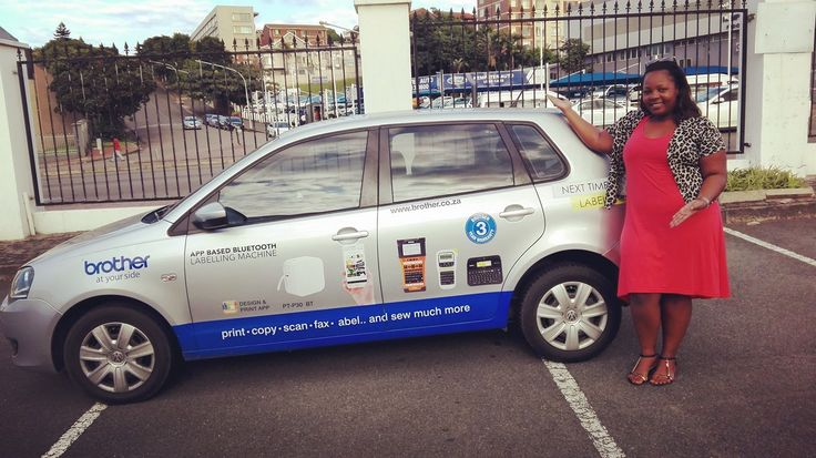 One of our #BrotherSouthAfrica drivers getting paid to get the conversation started. #EarnExtraCash #BecomeFamous #BrandYourCar