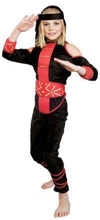Teen Female Ninja Costume Deal Price $10.23 - http://www.pinchingyourpennies.com/teen-female-ninja-costume-deal-price-10-23/ #Costume, #Halloween, #Ninja, #Pinchingyourpennies, #Teen