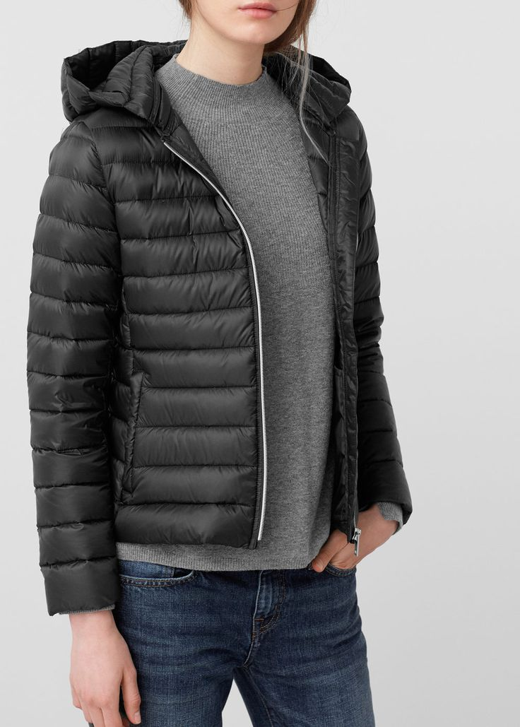 Anorak capuche en duvet - Manteaux pour Femme | MANGO Suisse