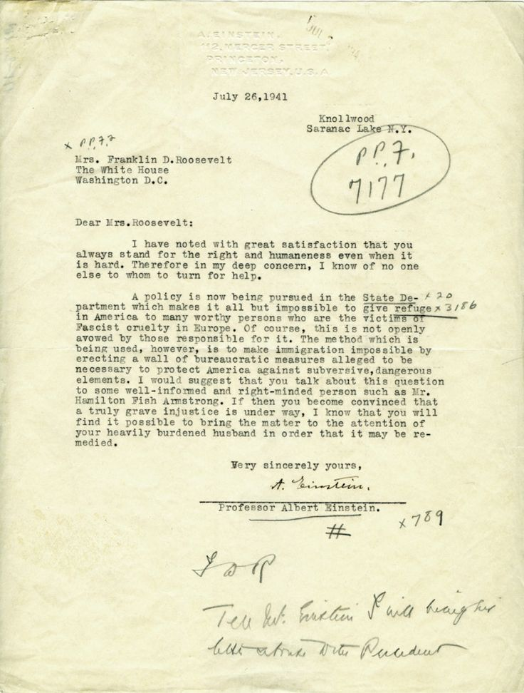 Documents that Changed the World: Einstein's letter to FDR, 1939
