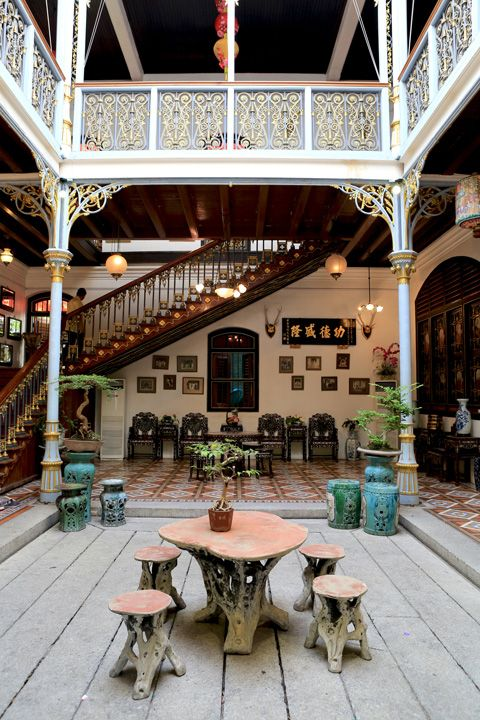 A Peranakan House in Penang.