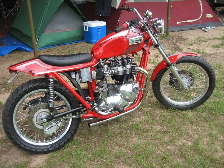 Old Triumph Motorcycles for Sale | Motorcycle Photo Of The Day