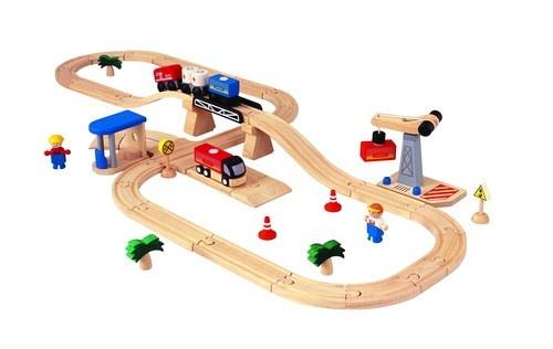 Pista de Comboio & Estrada - Transportes