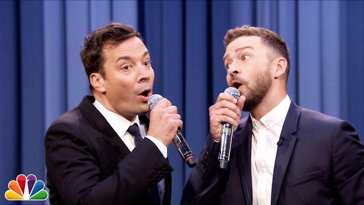 History of Rap 6 (Jimmy Fallon & Justin Timberlake) : The Tonight Show Starring Jimmy Fallon - 9/9/15